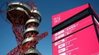 Orbit tower at the Olympic Park