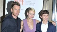 Ewan McGregor, Naomi Watts and Tom Holland