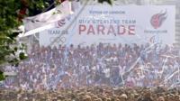 London 2012 victory parade