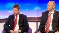 Gavin Hayes and Stewart Jackson