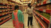 Indians shopping