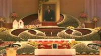 Funeral of religious leader Sun Myung Moon