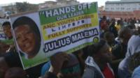 Julius Malema supporters