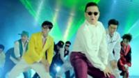 Psy in Gangnam Style video
