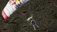 Baumgartner parachuting