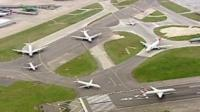 Planes at Heathrow