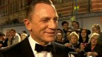Daniel Craig at the world premiere of Skyfall in London