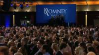 Romney supporters gathered in Boston
