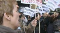 Protest in Spain