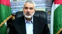 Hamas Prime Minister Ismail Haniyeh