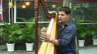 Musician on the streets of Rio de Janeiro