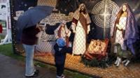 2011's Nativity Scene in Palisades Park