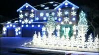 Pop phenomenon Psy provides the soundtrack to this Christmas light spectacular