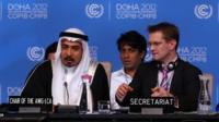 Delegates at Doha