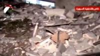 Syrian state TV has reported damage to the Syrian interior ministry