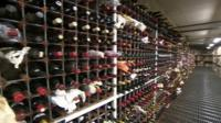 Berry Brothers wine warehouse