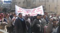 Marching in Amman