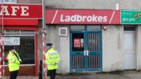 Ladbrokes branch on Crownhill Road in Plymouth, Devon