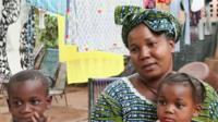 Nana Toure, a displaced woman from Timbuktu