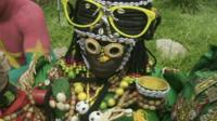 Burkina Faso's team witch doctor