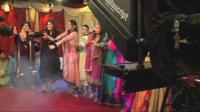 TV wedding in Pakistan