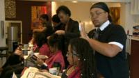 Hair dressers salon