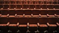 Empty seats at the Comedy Theatre, London