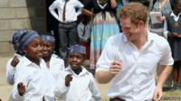 Prince Harry in Lesotho