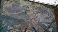 Brian Barnes' mural in Brixton