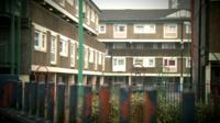 Falinge estate in Rochdale