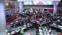 New Broadcasting House newsroom