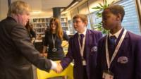 Norwood students interview the Mayor of London