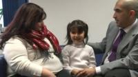 Rend Al-Taiar, five, saved her mum's life by dialling 999 when she had an asthma attack