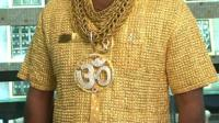 Shirt made of gold