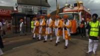 Parade in Wolverhampton