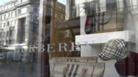 Burberry shop