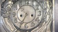 Clock designed by Charles Rennie Mackintosh