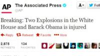 Associated Press news agency's Twitter account is hacked
