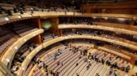 inside the Mariinsky Theatre