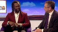 Levi Roots and Mark Hoban
