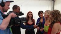 Newsbeat reporters interview The Saturdays