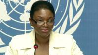 UN Emergency Relief Co-ordinator Valerie Amos