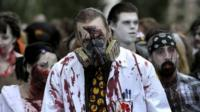 The Zombie walk in Stockholm