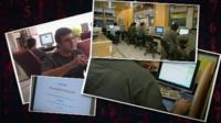 Iranian internet users