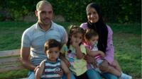 Moaina Awad and her family