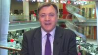 Shadow chancellor Ed Balls
