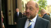 European Parliament President Martin Schulz,