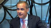 Governor of the Bank of England Mark Carney