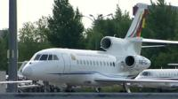 Bolivian presidential plane
