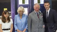 Jenna Coleman, Duchess of Cornwall, Prince Charles, Matt Smith